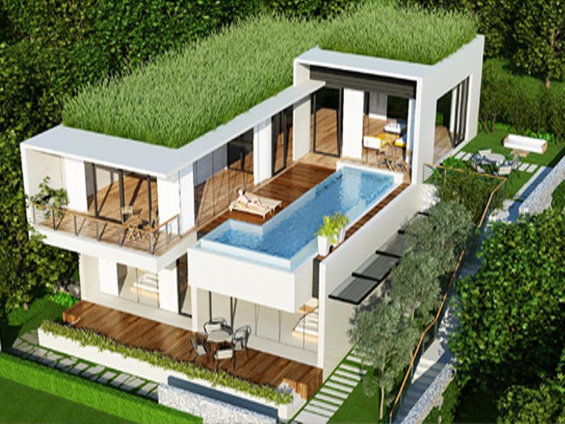 Thiết kế 3D nội thất biệt thự Resort Đại Lải Flamingo