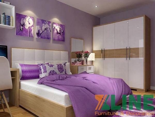 Bộ phòng ngủ bằng gỗ đẹp