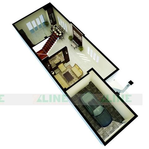 Thiết kế nội thất biệt thự cổ điển anh Tuấn Tô Hiệu