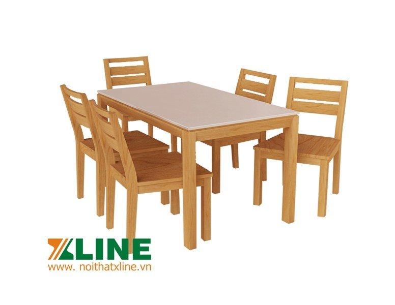 bàn ăn sồi mỹ