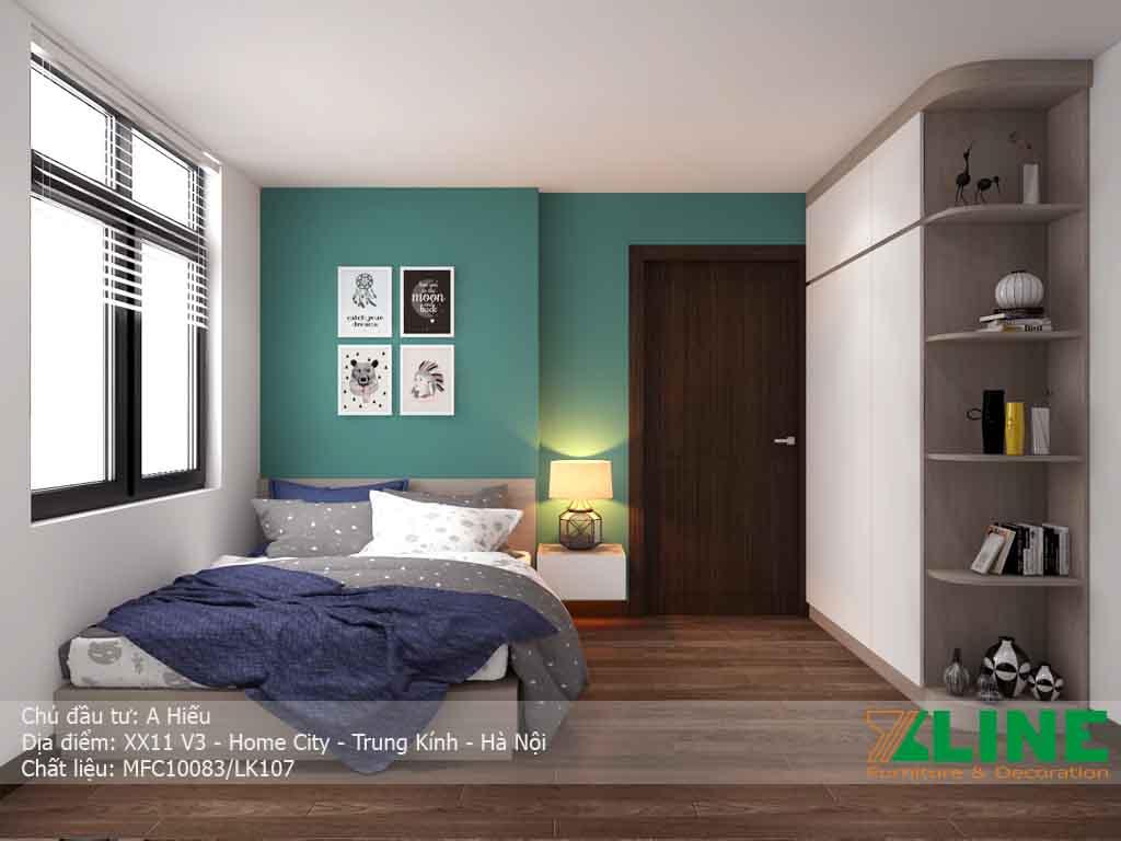 Nội thất trọn gói căn hộ V3 Home city