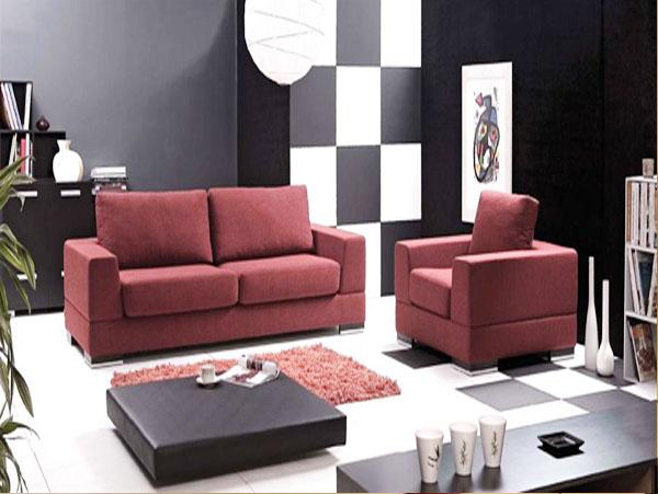 sofa da lon