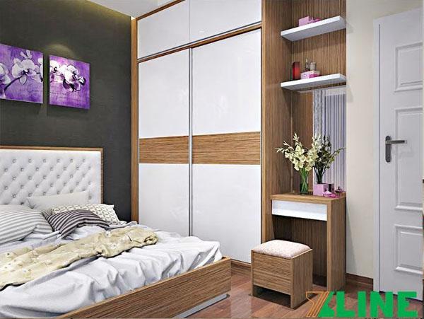 Mẫu tủ quần áo cửa lùa TQA-XL10