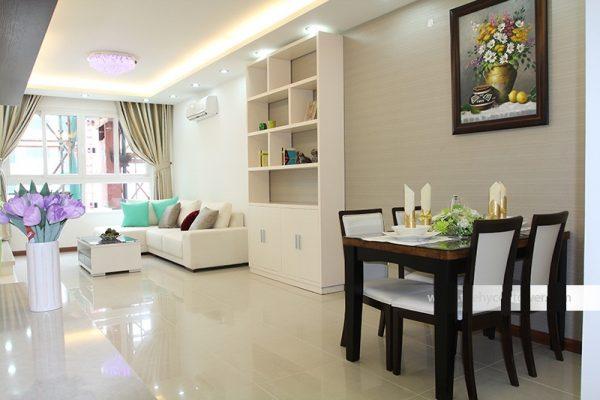 Quy trình hoàn thiện và báo giá thiết kế nội thất căn hộ chung cư Golden File