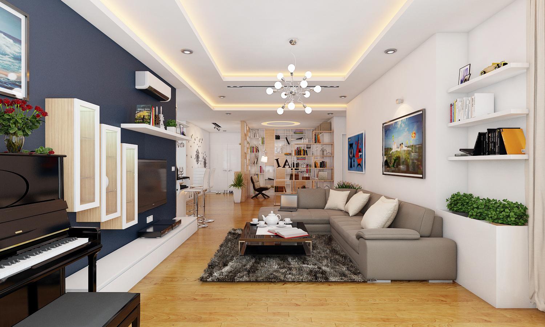 Xu hướng thiết kế nội thất chung cư Hà Nội