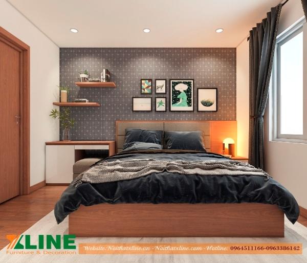 Thi công nội thất phòng ngủ chung cư