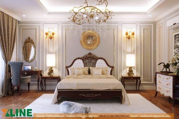 Thiết kế nội thất chung cư phong cách tân cổ điển