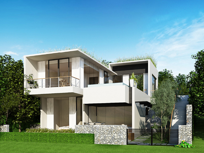Thiết kế 3D căn hộ Đại Lải