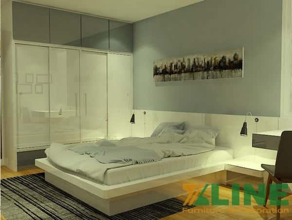 Bộ nội thất phòng ngủ Hàn Quốc