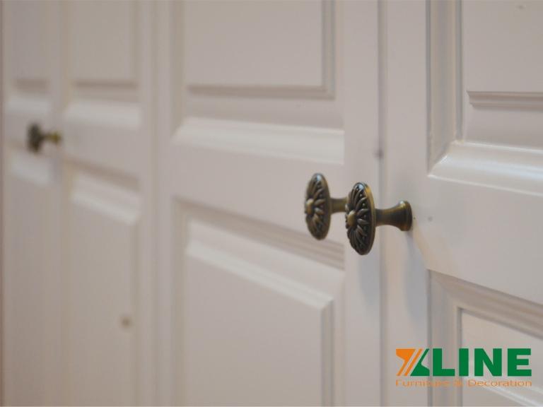 Chất liệu sơn cao cấp tạo nên độ tinh tế sang trọng cho sản phẩm bộ phòng ngủ cao cấp