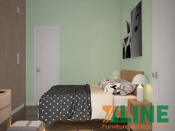 Bộ nội thất phòng ngủ đơn giản