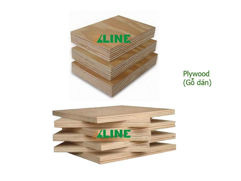 (Hình H2) gỗ Plywood - Gỗ dán