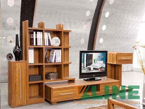 Kệ để tivi bằng gỗ