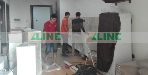 Thi công nội thất chung cư Home City Lộc Hảo