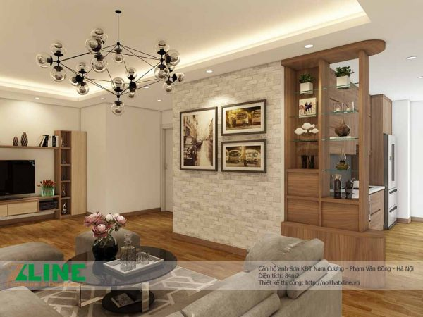Thiết kế thi công nội thất chung cư cao cấp - Nam Cường