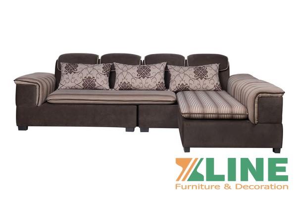 Bộ sofa nỉ bọc cao cấp