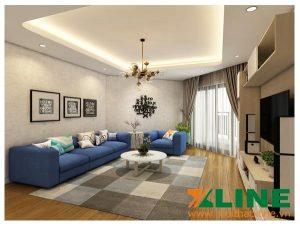 mẫu nội thất chung cư 70m2