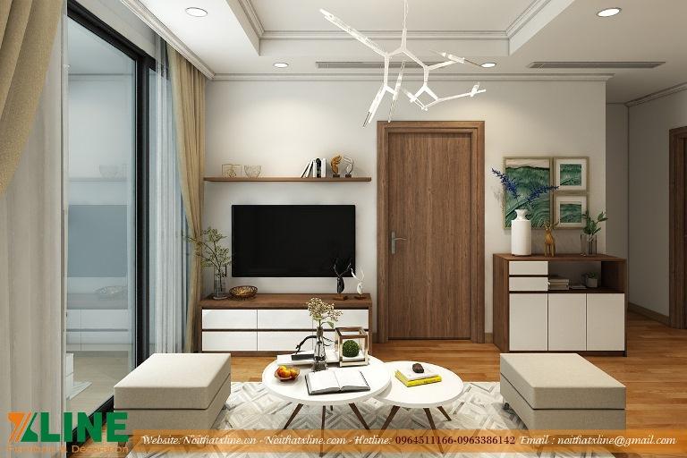 Thiết kế thi công nội thất Hà Nội nhà anh Tú