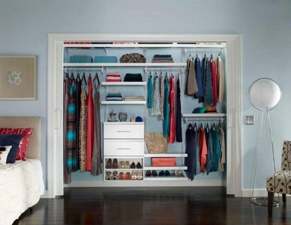 Mẫu tủ đựng quần áo thông minh nhiều ngăn cho căn phòng ngủ tiện nghi nhất