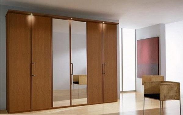 Mẫu tủ quần áo âm tường với thiết kế năng động và cuốn hút